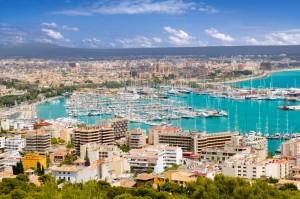 Palma hoofdstad van Mallorca