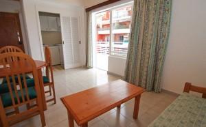 Woonkamer appartement Jorbar