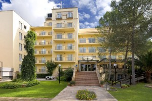 Vooraanzicht hotel Mallorca