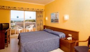 slaapkamer hotel Mallorca