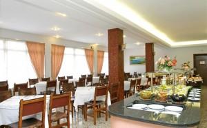 Restaurant van hotel Iris