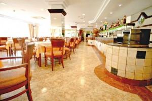 restaurant van het hotel