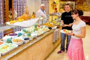 restaurant van hotel Palma Mazas