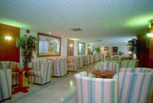 Lobby in Hotel Riutort