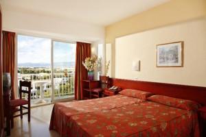 slaapkamers van het hotel