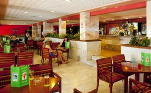 Lobby in het Luna hotel