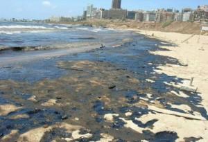 Vervuiling strand