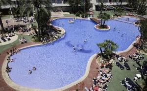 Zwembad van Club B Mallorca