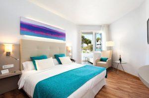 Kamers van het Rocador hotel