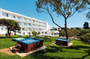 whirlpools met tuin bij Rocador hotel