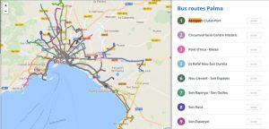 Openbaar vervoer Mallorca