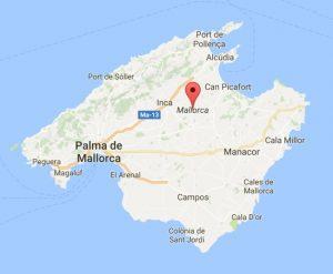 Mallorca kaart gebruiken