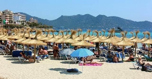 Strand van Cala Millor op Mallorca