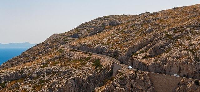 Routes voor met de auto Mallorca