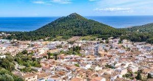 Capdepera op Mallorca dichtbij Cala Ratjada