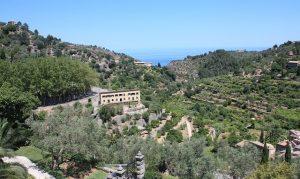 Deià Mallorca met uitzicht op de zee