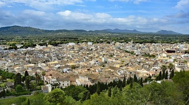 Arta op Mallorca bij Cala Ratjada