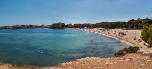 Stranden van Palma Nova