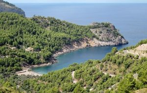 Strand Cala de Deià Mallorca