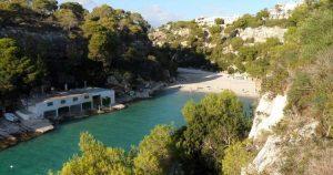 Strand van Cala Pi op Mallorca